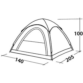 Easy Camp Comet 200 Tienda de Campaña